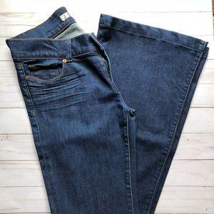 Denim - J Brand Lovestory Jeans in Dark wash